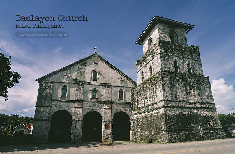 {travel} Baclayon Church - Bohol, Philippines