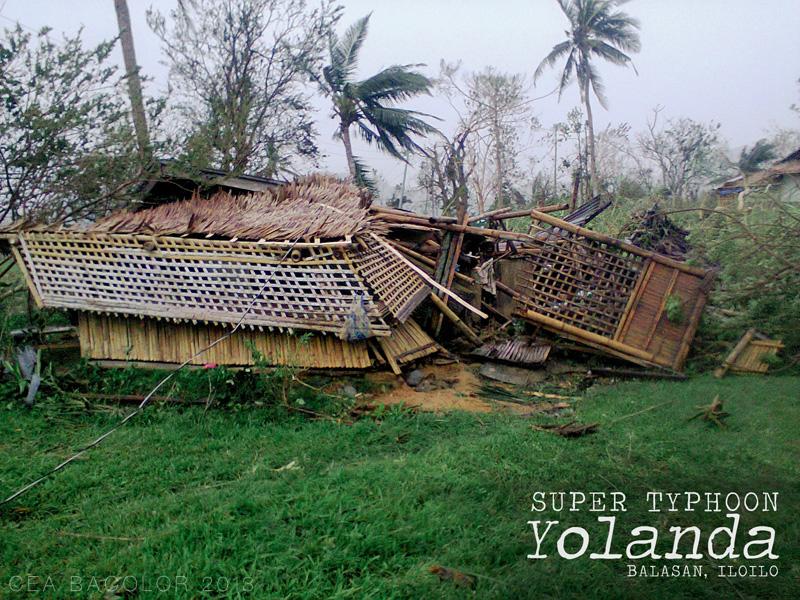 Yolanda Aftermath: Our home in Balasan, Iloilo