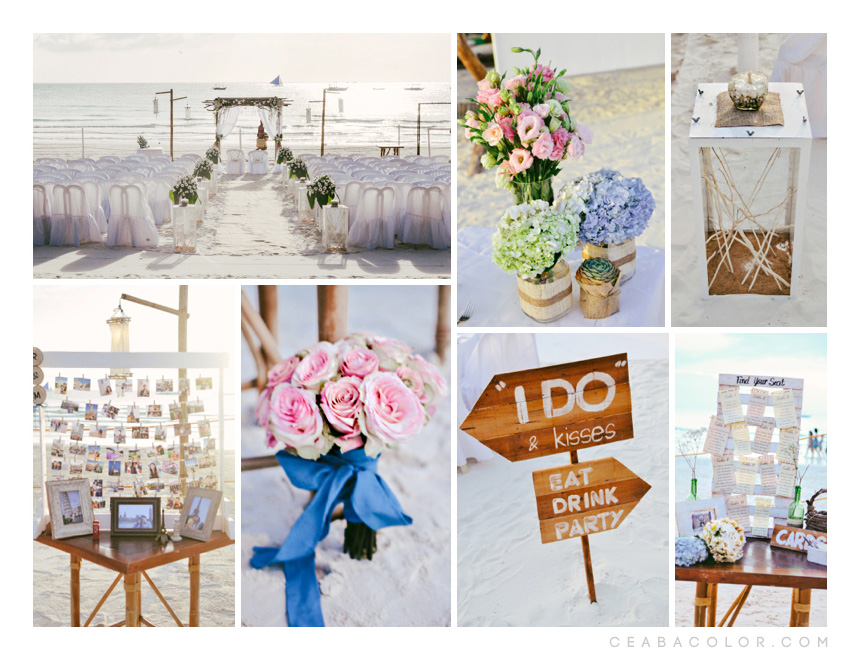 {wedding} Rustic Beach Wedding - Teaser