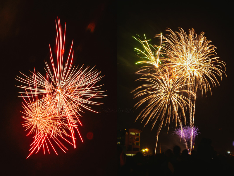 iloilo dinagyang pyromusical competition sm fireworks display