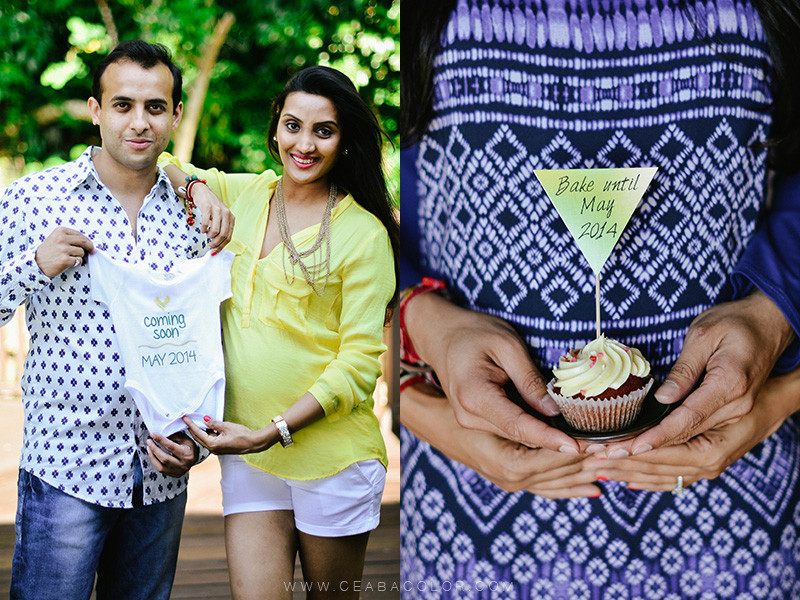 shangri-la boracay maternity beach photos cupcake banner baby onesies