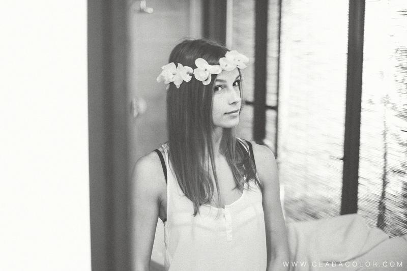 asya premier boracay beach wedding russian bride flower crown