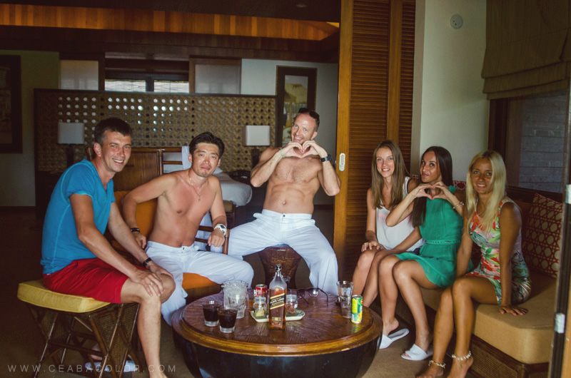 asya premier boracay beach wedding russian friends