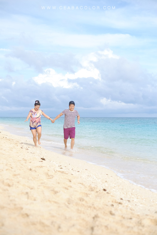 Puka beach Boracay prenup prewedding couple shoot with fujifilm x-t1